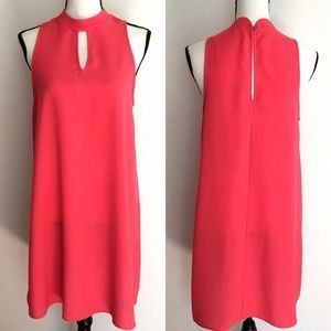 Everly pink sleeveless spring summer dress size S
